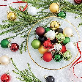 Classic Mini Ornaments, Set of 32