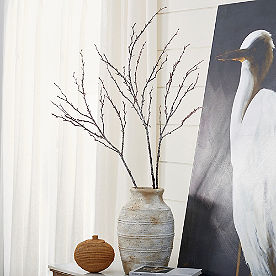 Glitter Branches, Set of Three