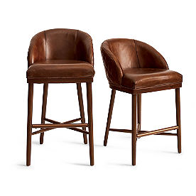 Augusto Quilted Bar & Counter Stool