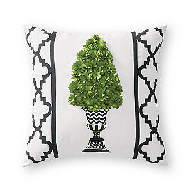 Zoey Topiary Outdoor Pillow
