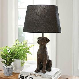 Labrador Table Lamp