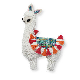 Llama Shaped Pillow