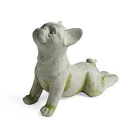 Yoga Dog Garden Statues