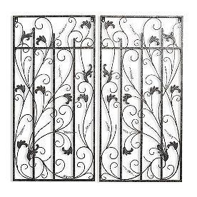 Balmoral Gate Wall Decor, Set of Two