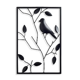 Metal Bird Wall Art, Set of Three