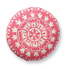 Round Medallion Pillow