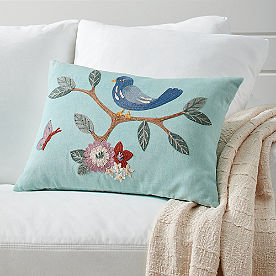 Cecelia Embroidered Pillow