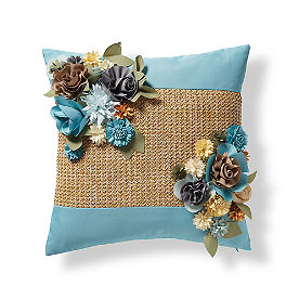 Topiary Outdoor Raffia Pillows