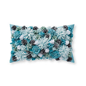 Topiary Outdoor Wildflower Lumbar Pillows