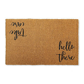 Hello There Coir Door Mat
