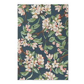 Blossom Crabapple Hooked Outdoor Rug & Mat