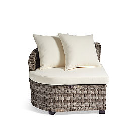 Alliance Wicker Sectional Collection