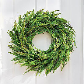 Classic Fern Wreath