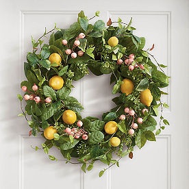 Lemon Fruity Wreath