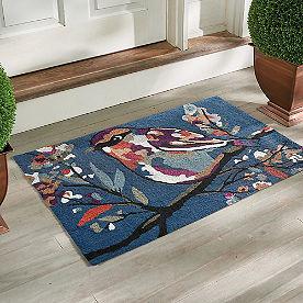 Songbird Hooked Door Mat