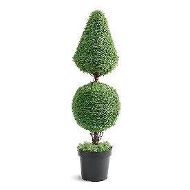 Ball and Cone Sage Topiary