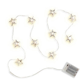 Patriotic Star String Lights