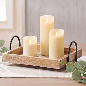 Flicker Flame Battery-operated Candle