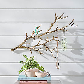 Metal Twig Wall Art