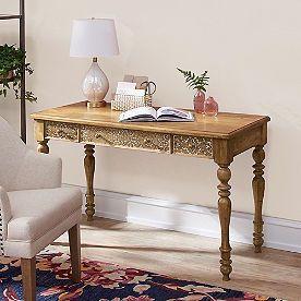 Thea Carved Desk
