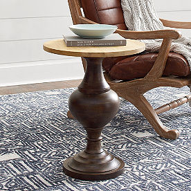 Knox Carved Accent Table