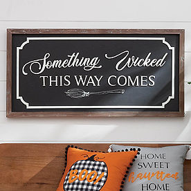Something Wicked Wall Decor