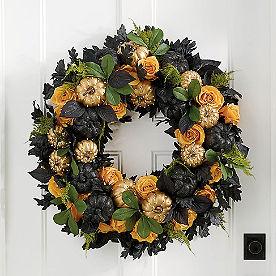 Luxe Gothic Wreath