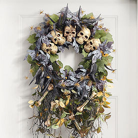 Halloween Forest Wreath