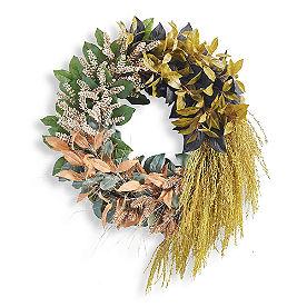 Gathered Leaves Wreath