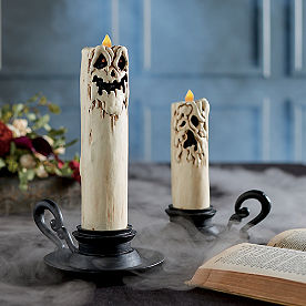 Melting Face Candles, Set of Two