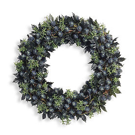 Halloween Thistle Wreath