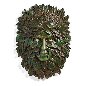 Leaves Face Wall Decor