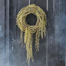 Drippy Spanish Moss Wreath