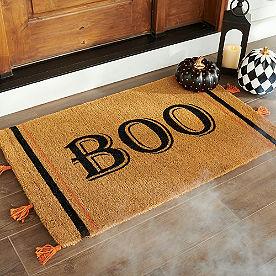Farmhouse Boo Coir Door Mat