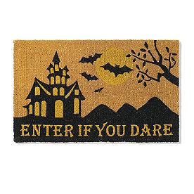 Enter If You Dare Coir Door Mat