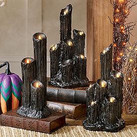Melting Candle Cluster