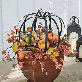 Harvest Pumpkin Urn Filler
