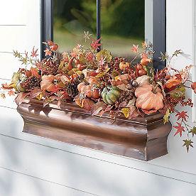 Harvest Pumpkin Window Box Filler