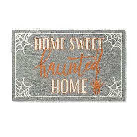 Haunted Home Hooked Door Mat