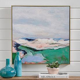 Abstract Terrain Art