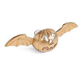 Pumpkin Bat Tea Light Holder
