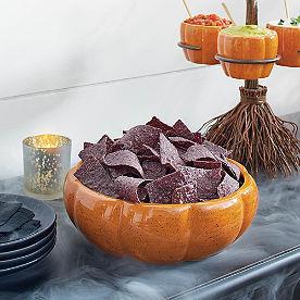 Hocus Pocus Pumpkin Serving Bowl