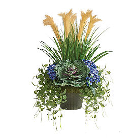 Pansy Cabbage Fall Urn Filler