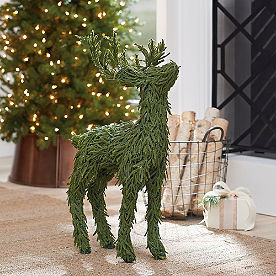 Greenery Deer Decor