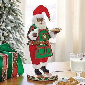 Jolly Santa Figure, Baking
