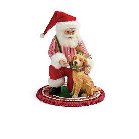 Jolly Santa Figure, Puppy Training
