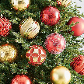 Outdoor Ornaments, Set of Four