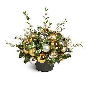 Metallic Holiday Tradition Cordless Urn Filler