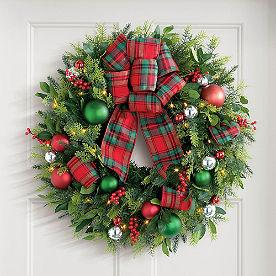 Bucolic Cordless Wreath