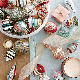 Nostalgic Christmas Ornaments, Set of 20